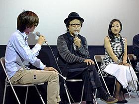 イベントに出席した園子温監督と神楽坂恵「恋の罪」