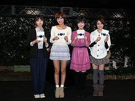 「GANTZ」女性キャストが女子会を開催「GANTZ」