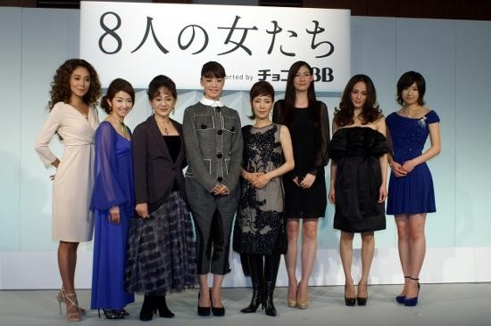 """舞台「8人の女たち」キャスト豪華すぎて""""あいうえお順""""発表"""