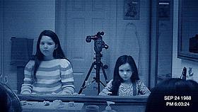 幼い少女の遊び相手の正体とは?「パラノーマル・アクティビティ」