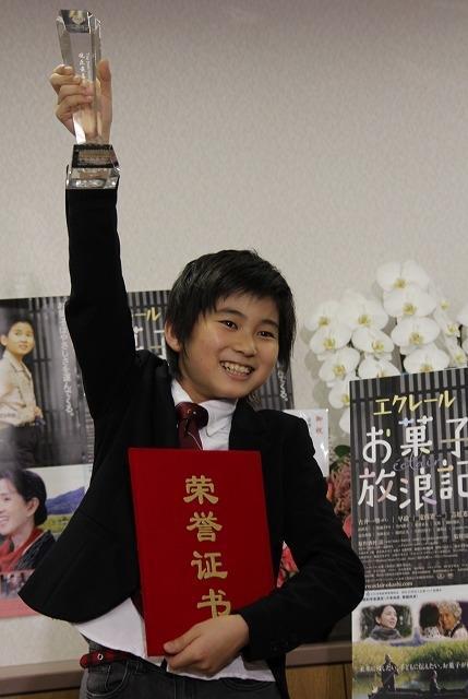 中国最大の映画祭で日本人子役が最優秀男優賞「宮城の人に感謝」