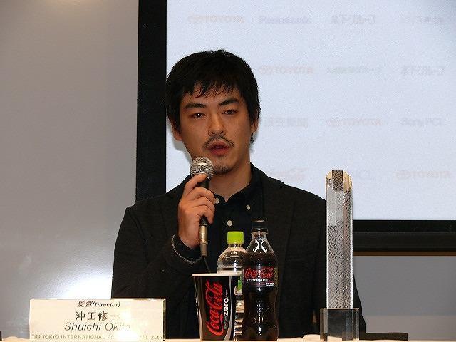 「キツツキと雨」で審査員特別賞を受賞した沖田修一監督