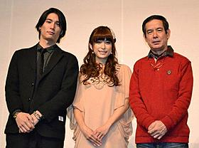 映画初主演に感無量の上原多香子「恋谷橋」