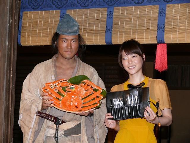 「江」から「平清盛」へ 上野樹里が松ケンに珍アドバイス