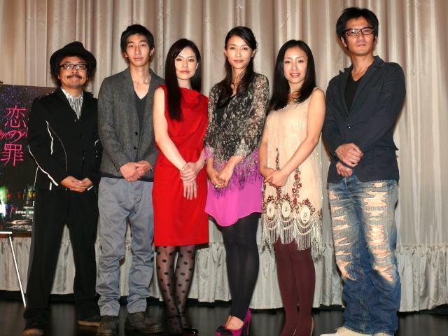 恋の罪」初日から立ち見盛況、園子温監督は感無量  映画