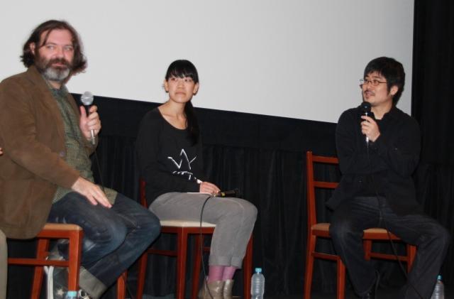 J・オルーク、映画監督になりたかったと告白 「海炭市叙景」トークイベント