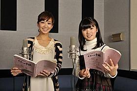 親子役を演じる美山加恋と優香「ももへの手紙」