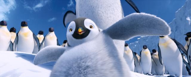 「ハッピーフィート2」×「イナズマイレブン」CMでペンギンコラボ