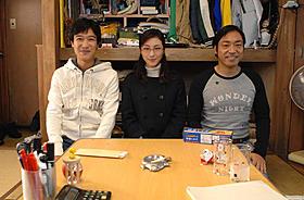 「鍵泥棒のメソッド」に出演する(左から)堺雅人、広末涼子、香川照之「鍵泥棒のメソッド」