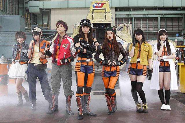 秋元才加ら「AKB48」7人、「ウルトラマンサーガ」で女性だけの地球防衛隊に
