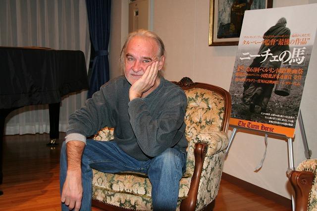 巨匠タル・ベーラ監督が来日 最後の作品、映画界への思いを語る