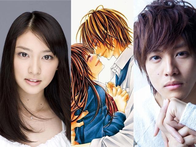 武井咲&松坂桃李「今日、恋をはじめます」実写映画化に主演