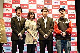 笑いの絶えない現場を振り返ったキャスト陣「東京プレイボーイクラブ」