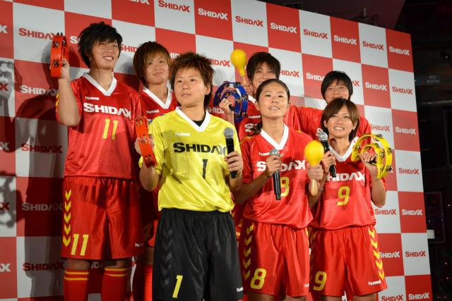 なでしこジャパン7選手、CM撮影でカラオケ三昧