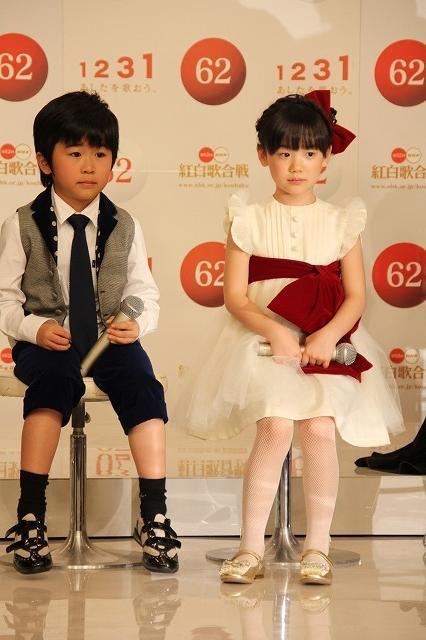 愛菜ちゃん&福くん、紅白史上最年少出場「がんばって歌います」 - 画像1