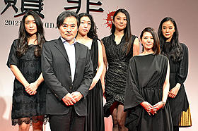 黒沢清監督、人気小説を豪華女優陣でドラマ化「贖罪」