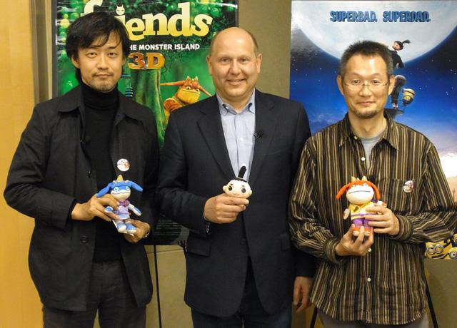 「もののけ島のナキ」山崎&八木両監督、米プロデューサーと熱論