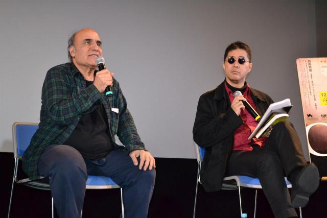 アミール・ナデリ監督が柳下毅一郎と熱論「日本は映画の豊かな国」