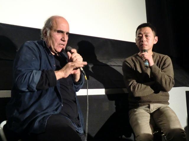 「CUT」A・ナデリ、鈴木卓爾と監督同士の白熱トーク