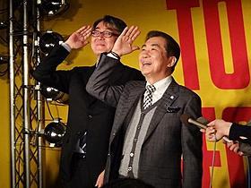 タワレコ嶺脇社長と「いらっしゃ~い!」