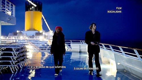 「ゴダール・ソシアリスム」座礁した伊豪華客船で撮影されていた
