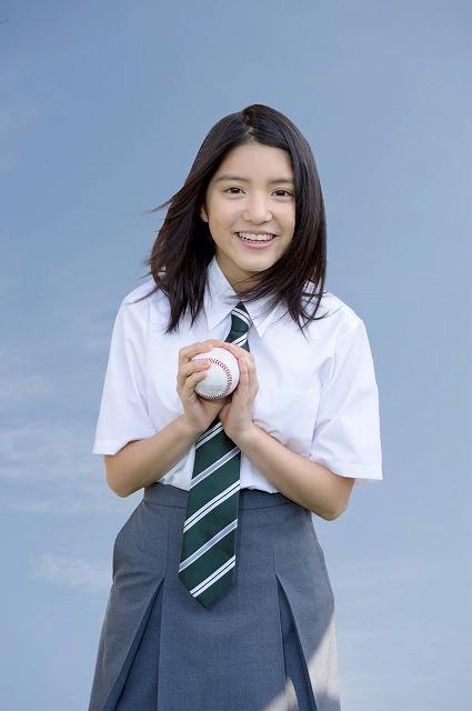 川島海荷、NHKドラマでがんと闘う野球部マネージャーに
