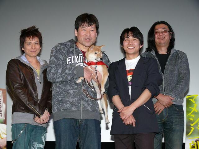 """佐藤二朗、""""マメシバ一郎""""と再会 犬の成長の早さに驚き"""