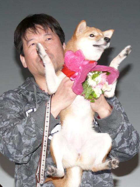 """佐藤二朗、""""マメシバ一郎""""と再会 犬の成長の早さに驚き - 画像2"""