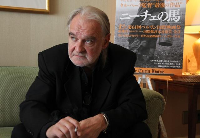 タル・ベーラ監督、最後の作品「ニーチェの馬」で映画人生を振り返る