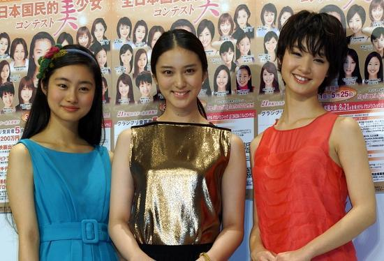 武井、忽那、剛力も生んだ「国民的美少女コンテスト」3年ぶり開催