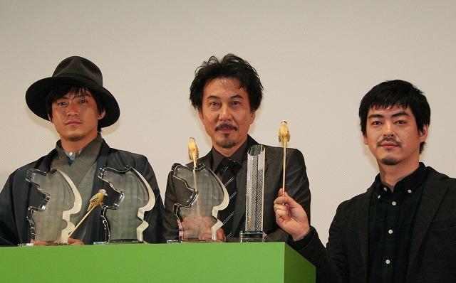 役所広司「キツツキと雨」ドバイ映画祭最優秀男優賞受賞に感激