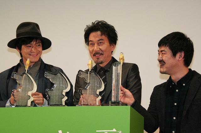役所広司「キツツキと雨」ドバイ映画祭最優秀男優賞受賞に感激 - 画像3