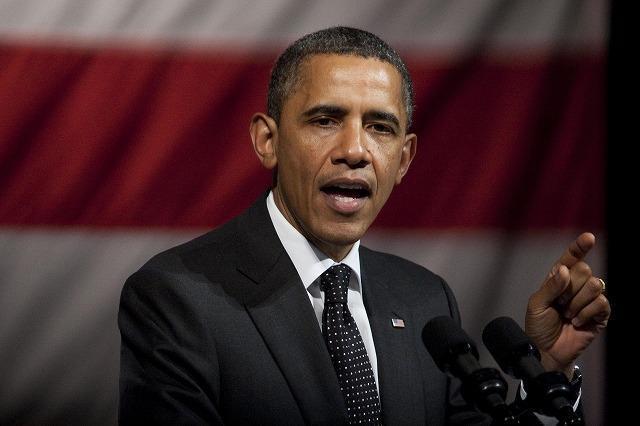 オバマ大統領、選挙資金集めのためハリウッドを訪問
