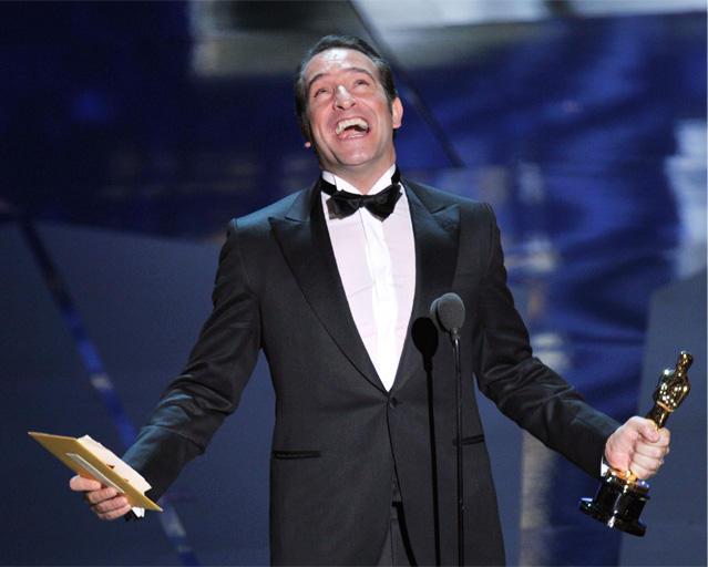 【第84回アカデミー賞速報】主演男優賞はジャン・デュジャルダンの手に
