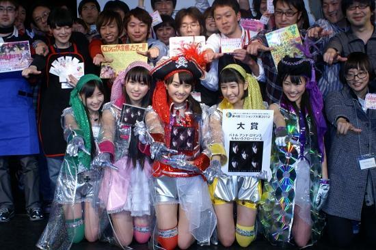 アイドル初の快挙! ももクロ、CDショップ大賞受賞