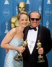 J・ニコルソンとW受賞を果たし 満面の笑みのH・ハントはその後…「ゴッドファーザー」