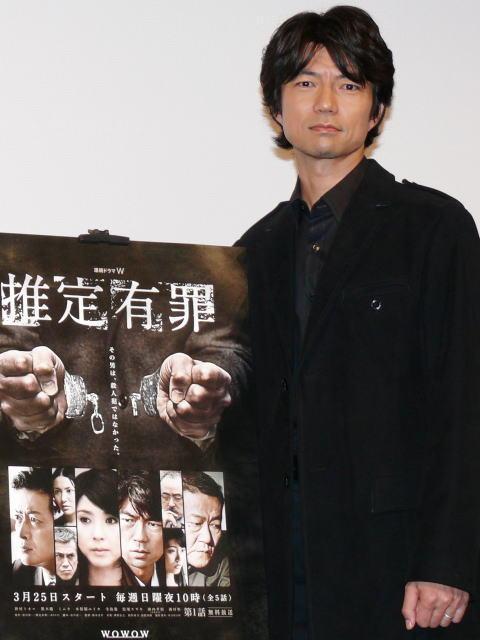 仲村トオル「ゴールが見えない」 えん罪記者役に強い葛藤