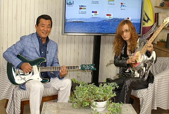 """加山雄三とアルフィー高見沢が""""科学的に""""ギター談議"""