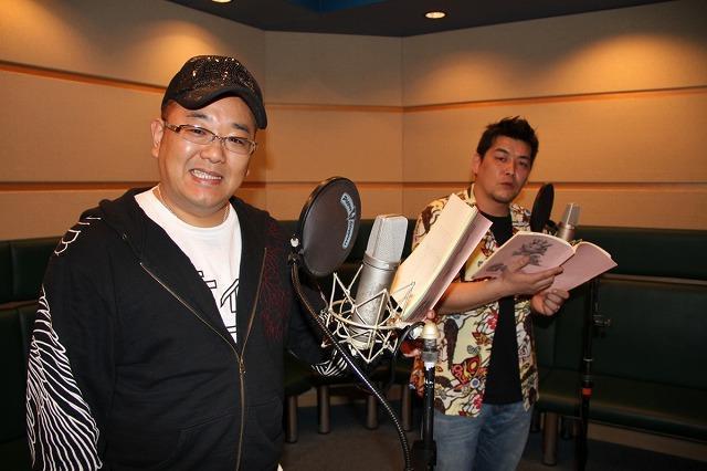 サンドウィッチマン、TVアニメ声優でアフレコ初共演