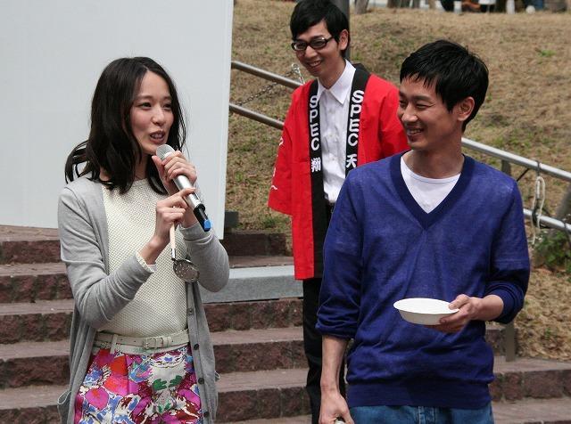 「SPEC」大流し餃子イベントに戸田恵梨香「これは餃子の映画かもしれない」