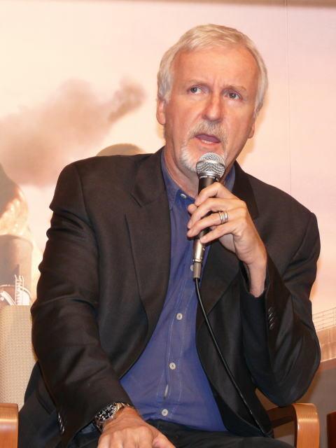 ジェームズ・キャメロン監督が来日!「タイタニック」3D化へのこだわり熱弁