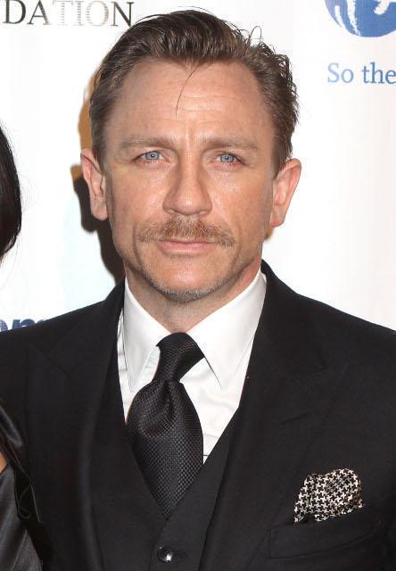 「007 スカイフォール」に主演する ダニエル・クレイグ