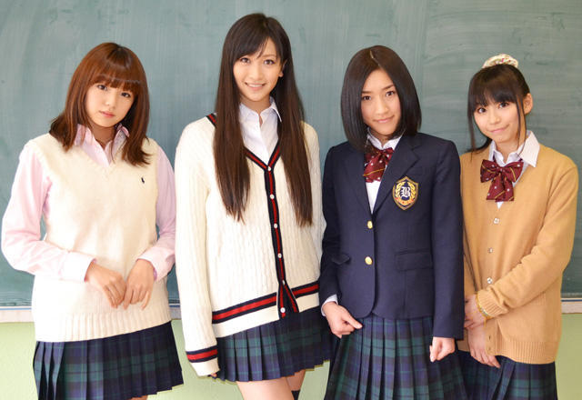 "「AKB48」「アイドリング!!!」「SUPER☆GiRLS」「AeLL.」がホラー映画で""共闘"""
