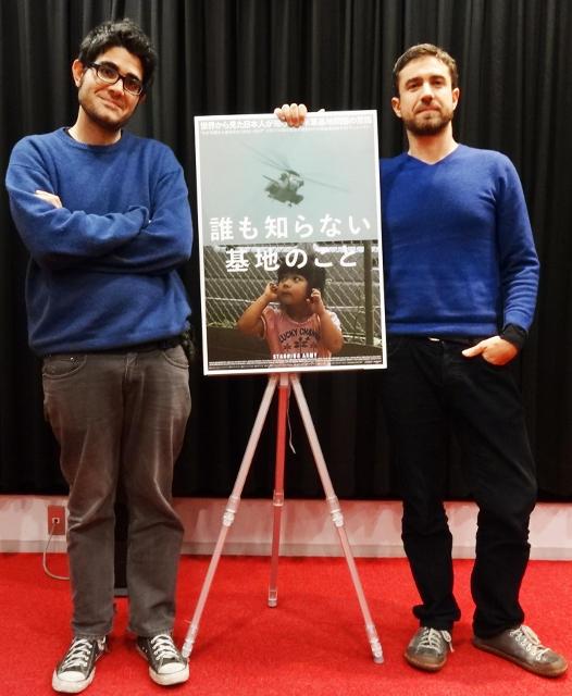 トーマス・ファツィ監督(左)とエンリコ・パレンティ監督