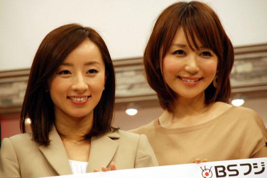 西尾由佳理と石田紗英子アナ、BSフジのソーシャル番組登場