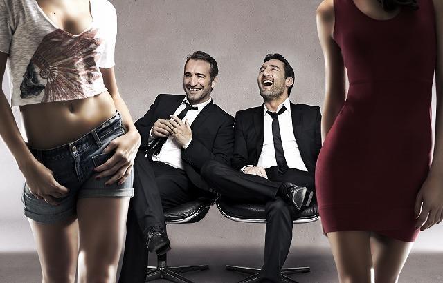 オスカー俳優J・デュジャルダンがセクシーなちょいワル男に「プレイヤー」予告編公開