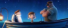 「メリダとおそろしの森」と同時上映される「月と少年」「月と少年」