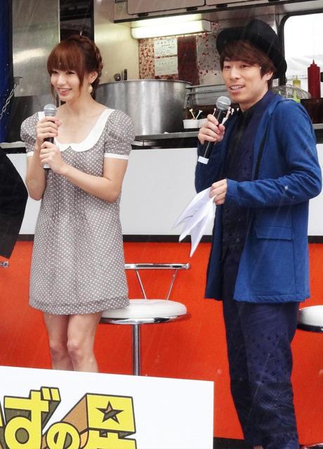 イベントに出席した田村淳と眞鍋かをり