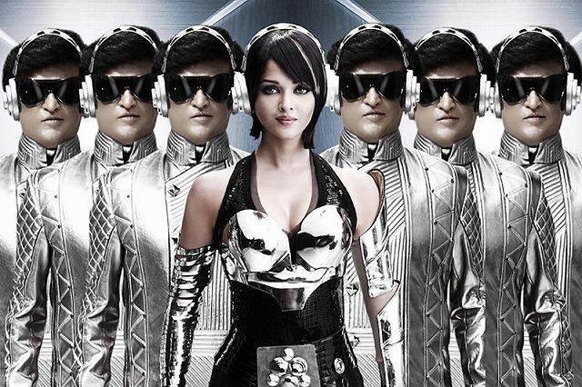 驚がくのインド映画「ロボット」、みうらじゅんら著名人絶賛のPV映像入手!