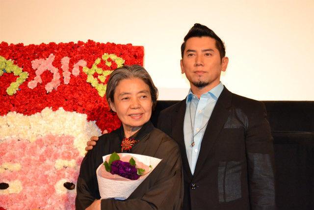 樹木希林、息子・本木雅弘と初の舞台挨拶に「頭が上がらない」